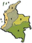 Colombian Regions (number two is Caribbean Region)