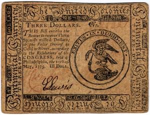 A three-dollars worth Continental.
