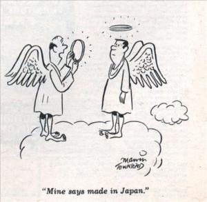 just an American cartoon. Jan 1969