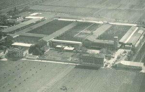 Air photo of original factory (Source: http://www.baxi.it/storia/)