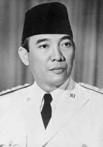 Dewi Sukarno (also spelled Soekarno)  (1901-1970). President of Indonesia, 1945 to 1966.