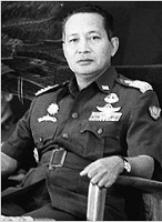 Haji Mohammad Suharto (also spelled Soeharto) (1921-2008). President of Indonesia,  1967 to 1998.