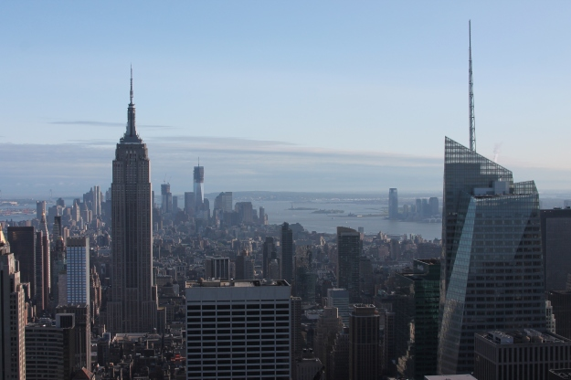 View of Manhattan from Top of the Rock Observation Deck, Sunday, May 20, 2012, 5:13 PM EST. A gift from the author to the loyal audience of the NEP-HIS blog.
