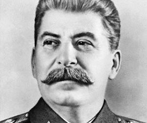 Joseph Stalin (b 1878 - 1953), Leader of the Soviet Union (1922-1953)
