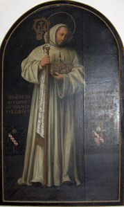 Bernard of Clairvaux, (1090–1153 C.E.) belonged to the Cistercian Order of Benedictine monks.