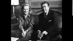 Thatcher and Reagan were the major architects of a change in economic policy away from state welfare.
