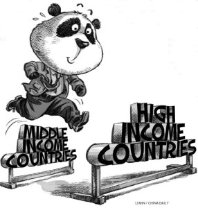 china middle income